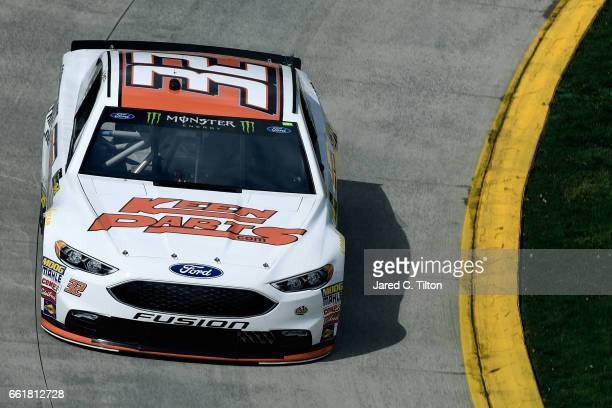 Matt DiBenedetto driver of the Keen Parts Ford practices for the Monster Energy NASCAR Cup Series STP 500 at Martinsville Speedway on March 31 2017...
