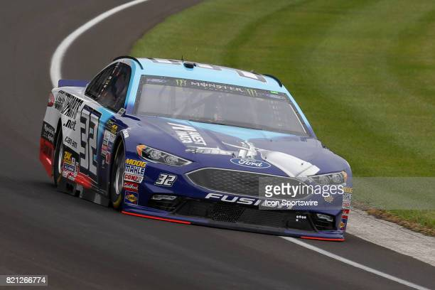Matt DiBenedetto GO FAS Racing Ford Fusion during practice for the NASCAR Monster Energy Cup Series Brantley Gilbert Big Machine Brickyard 400 July...