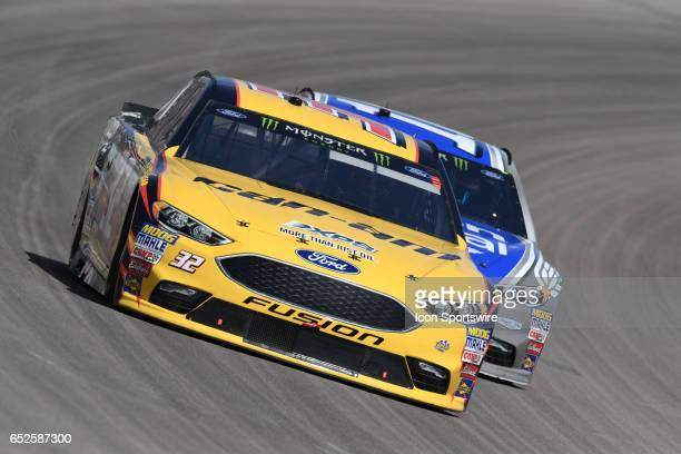 Matt DiBenedetto GO FAS Racing Ford Fusionracing during the Kobalt 400 NASCAR Monster Energy Cup Series race on March 12 2017 at Las Vegas Motor...