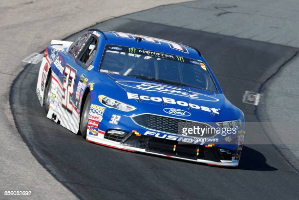 Matt DiBenedetto Monster Energy NASCAR Cup Series driver of the Ford EcoBoost Ford during the Monster Energy Cup Series ISM Connect 300 on September...