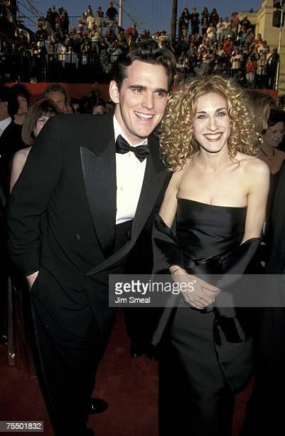 Matt Dillon and Sarah Jessica Parker at the Shrine Auditorium in Los Angeles California