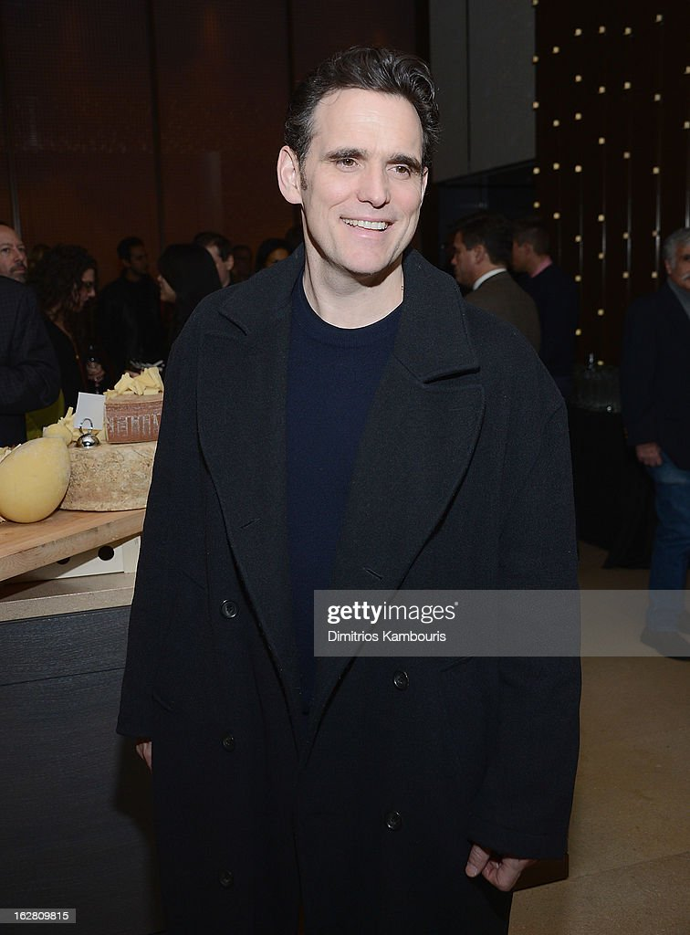 Matt Dillon attends the Bank of America and Food Wine with The Cinema Society screening of 'A Place at the Table' after party at Riverpark on...