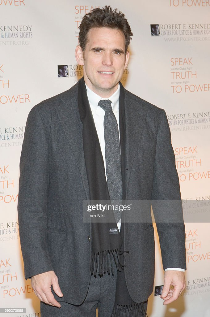Matt Dillon attends the 'Robert F Kennedy Center For Justice Human Rights Bridge Dedication Gala' at Pier 60 in New York City