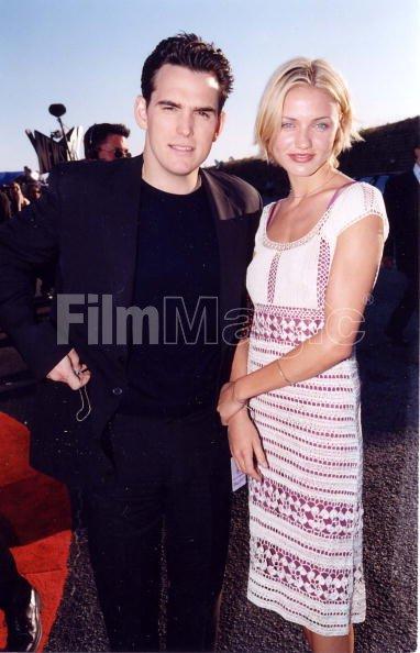 Matt Dillon Cameron Diaz at the 1998 MTV Movie Awards in ... Cameron Diaz Movies 1998