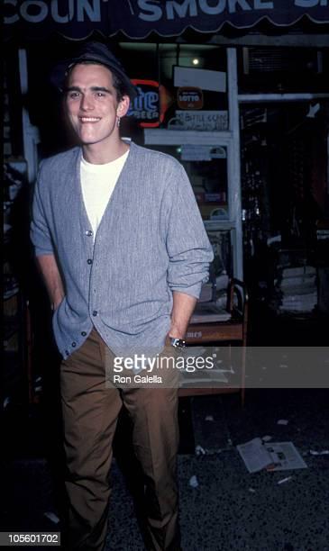 Matt Dillon during Matt Dillon and Mickey Rourke Leaving Elaine's Restaurant at Elaine's Restaurant in New York City New York United States