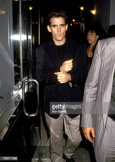 Matt Dillon during 'The Commitments' premiere at Coronet Theater in New York City New York United States