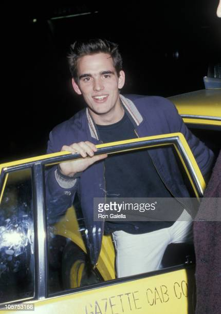 Matt Dillon during 'The Last Emperor' New York City Premiere at Cinema One in New York City New York United States