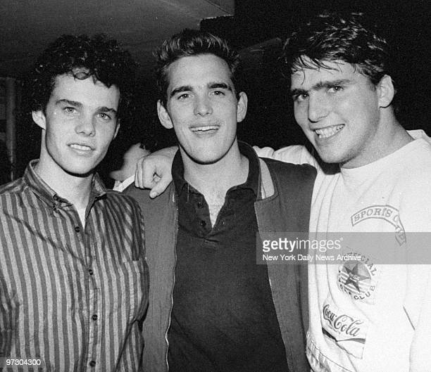 Matt Dillon is on hand with brothers Kevin and Paul for premiere party for the movie 'Broken Noses' at the Metropolis restaurant