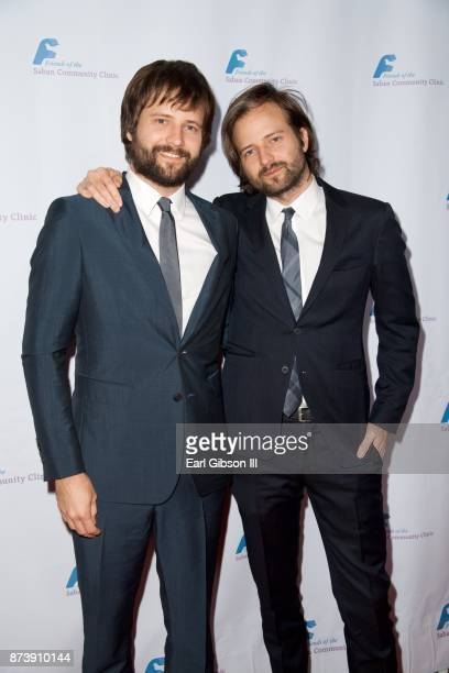 Matt Duffer and Ross Duffer attend Saban Community Clinic's 50th Anniversary Dinner Gala at The Beverly Hilton Hotel on November 13 2017 in Beverly...