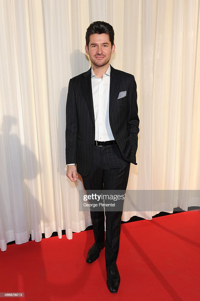 <a gi-track='captionPersonalityLinkClicked' href=/galleries/search?phrase=Matt+Dusk&family=editorial&specificpeople=2499967 ng-click='$event.stopPropagation()'>Matt Dusk</a> attends the 2014 Juno Awards Nominee Press Conference at The Design Exchange on February 4, 2014 in Toronto, Canada.