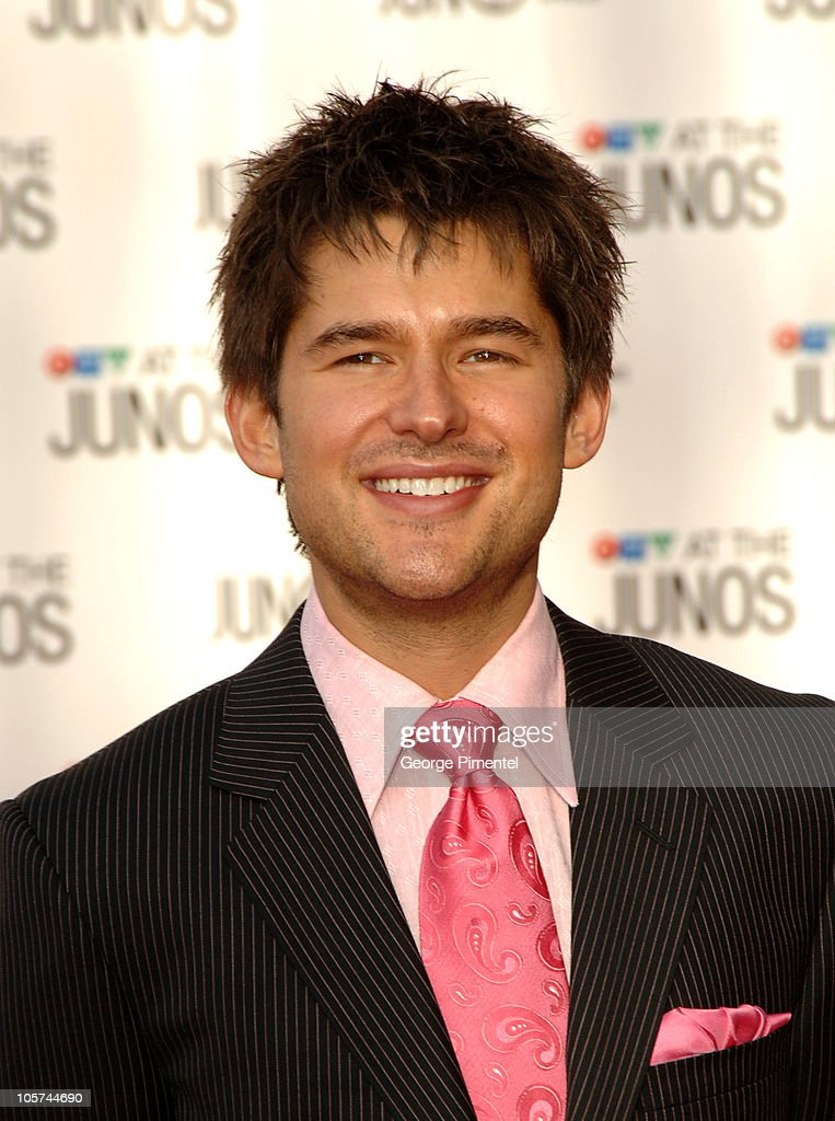 <a gi-track='captionPersonalityLinkClicked' href=/galleries/search?phrase=Matt+Dusk&family=editorial&specificpeople=2499967 ng-click='$event.stopPropagation()'>Matt Dusk</a> during 2005 Canadian Juno Awards - Arrivals at MTS Centre in Winnipeg, Manitoba, Canada.