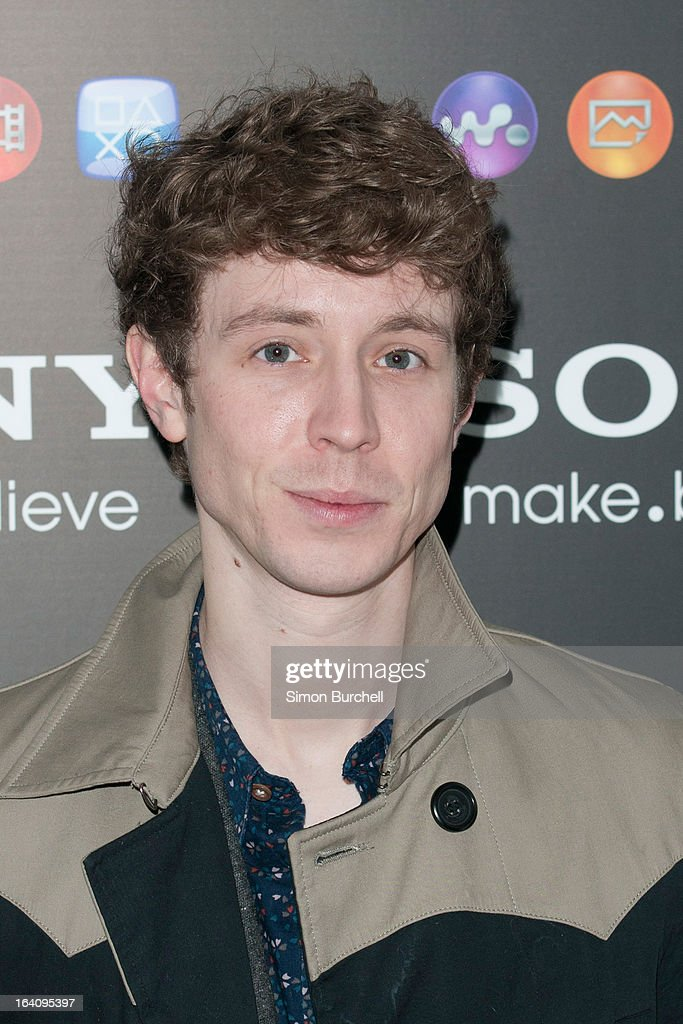 Matt Edmonton attends the launch of the new Sony Xperia Z on March 19, 2013 in London, England.