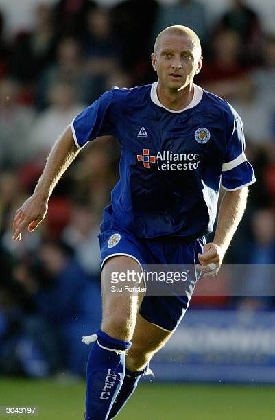 Matt Elliott of Leicester City in action during the PreSeason Friendly match between Kidderminster Harriers and Leicester City held on July 21 2003...