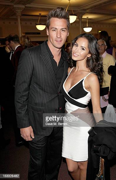 Matt Evers and Funda Onal arrive at The Inspiration Awards For Women 2012 at Cadogan Hall on October 3 2012 in London England
