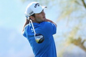 Matt Every hits a tee shot at the second hole on the Jack Nicklaus Private Course at PGA West during the first round of the Humana Challenge in...