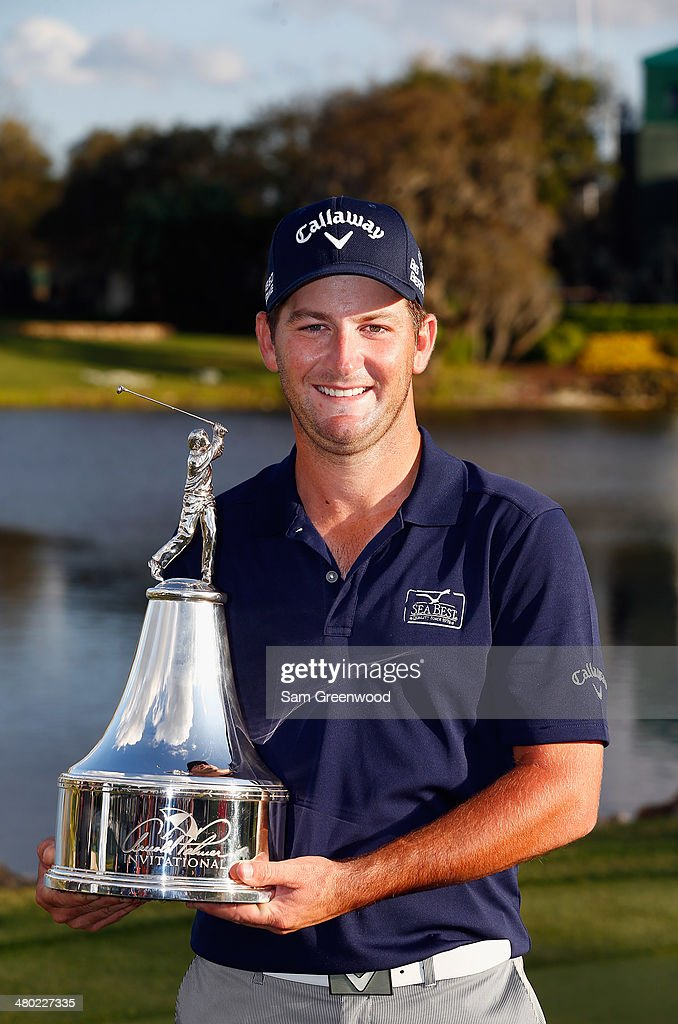 <a gi-track='captionPersonalityLinkClicked' href=/galleries/search?phrase=Matt+Every&family=editorial&specificpeople=2344163 ng-click='$event.stopPropagation()'>Matt Every</a> of the United States celebrates with the trophy after winning the Arnold Palmer Invitational presented by MasterCard at the Bay Hill Club and Lodge on March 23, 2014 in Orlando, Florida.