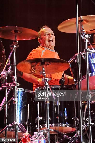 Matt Frenette of Loverboy performs in concert at the Cedar Park Center on October 22 2015 in Cedar Park Texas