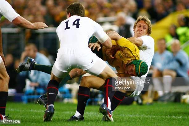 Matt Giteau / Johnny Wilkinson Australie / Angleterre test Match ANZ Stadium Sydney