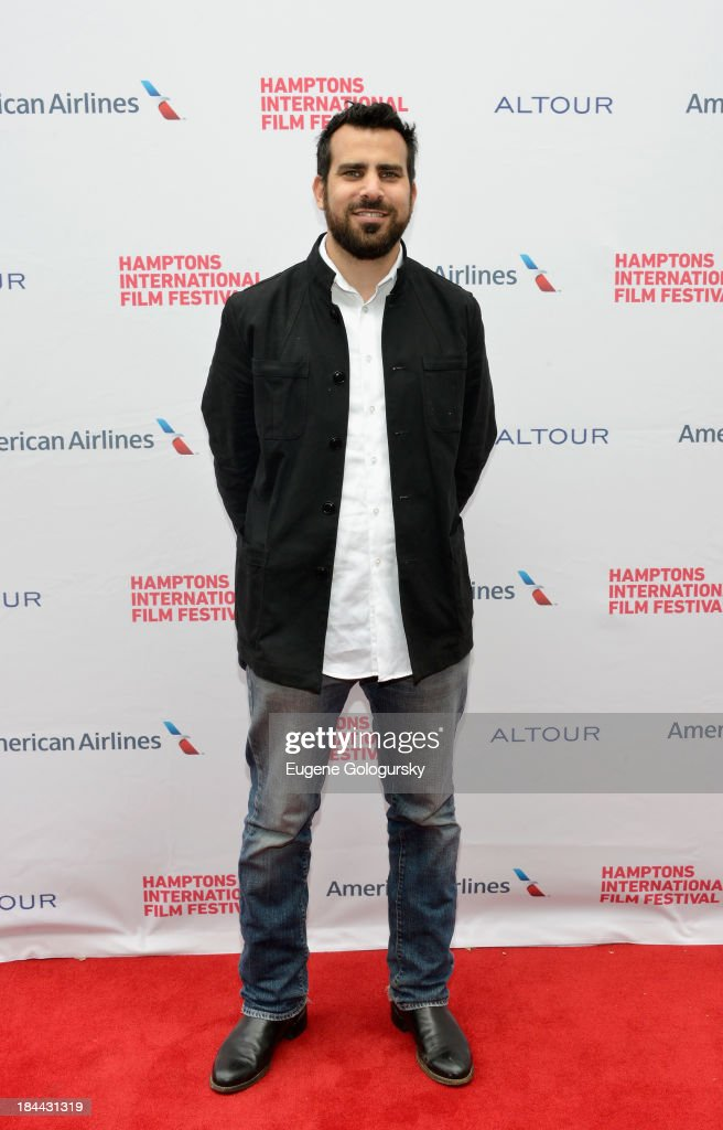 <a gi-track='captionPersonalityLinkClicked' href=/galleries/search?phrase=Matt+Goldman&family=editorial&specificpeople=2210177 ng-click='$event.stopPropagation()'>Matt Goldman</a> attends the 21st Annual Hamptons International Film Festival on October 12, 2013 in East Hampton, New York.
