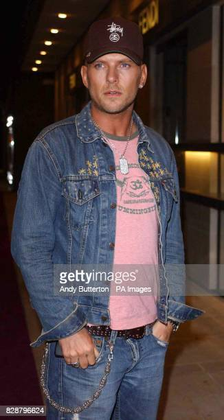 Matt Goss arrives for the Million Dollar Babes party at Mju Millennium Hotel in London