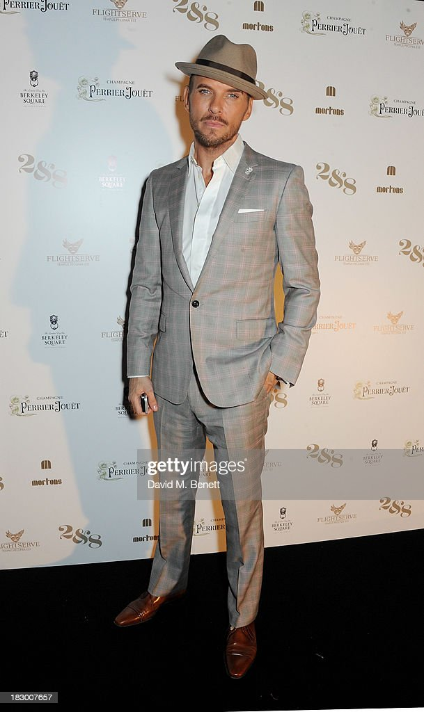 Matt Goss attends the 1st birthday party of 2&8 Club at Mortons on October 3, 2013 in London, England.