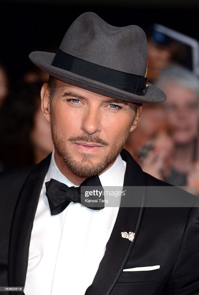 Matt Goss attends the Pride of Britain awards at the Grosvenor House, on October 7, 2013 in London, England.