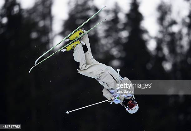 Matt Graham of Australia competes during the Men's Moguls Final of the FIS Freestyle Ski and Snowboard World Championship 2015 on January 18 2015 in...