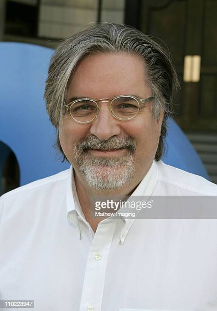 Matt Groening creator/executive producer during 'The Simpsons' 350th Episode Block Party Arrivals at Fox Pico Lot in Los Angeles California United...