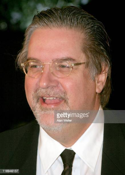 Matt Groening during 2005 British Comedy Awards Arrivals at London Television Studios in London Great Britain