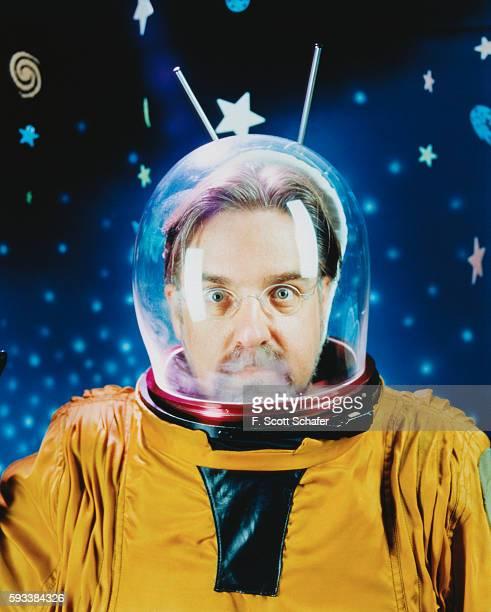 Matt Groening in Space Helmet