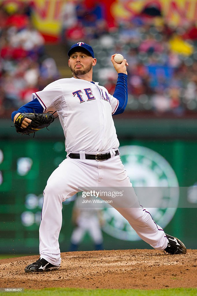 <a gi-track='captionPersonalityLinkClicked' href=/galleries/search?phrase=Matt+Harrison&family=editorial&specificpeople=4171692 ng-click='$event.stopPropagation()'>Matt Harrison</a> #54 of the Texas Rangers pitches during the game against the Seattle Mariners at Rangers Ballpark in Arlington on Sunday, September 16, 2012 in Arlington, Texas. The Rangers defeated the Mariners 2-1.