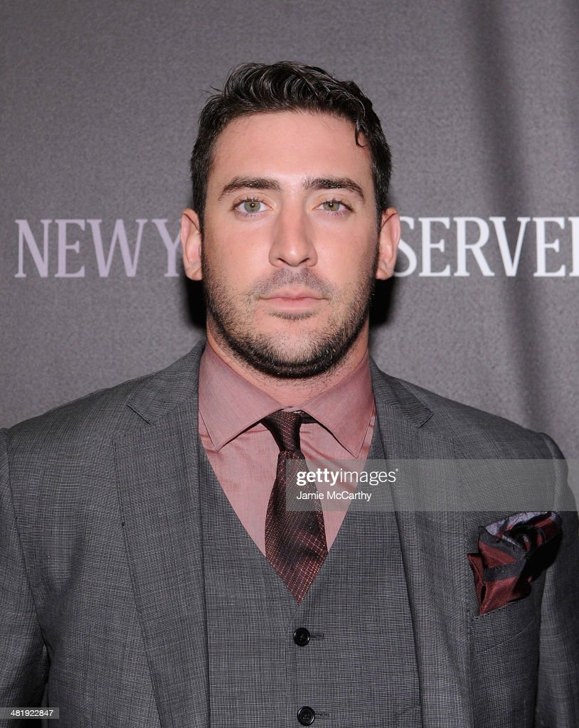 Matt Harvey attends The New York Observer Relaunch Event on April 1, 2014 in New York City.