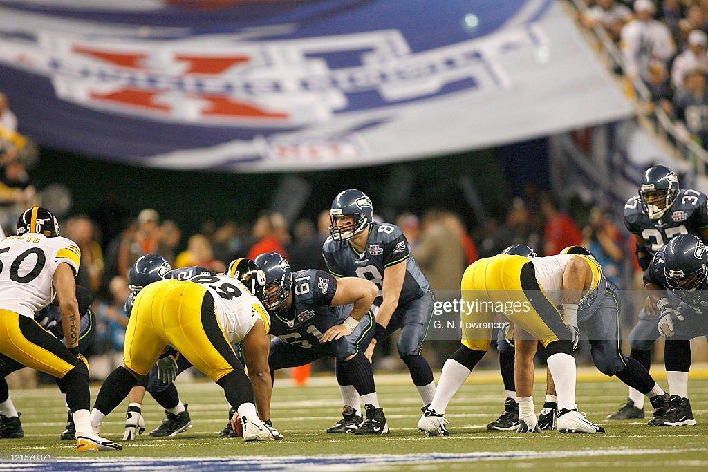 Super Bowl XL - Pittsburgh Steelers vs Seattle Seahawks