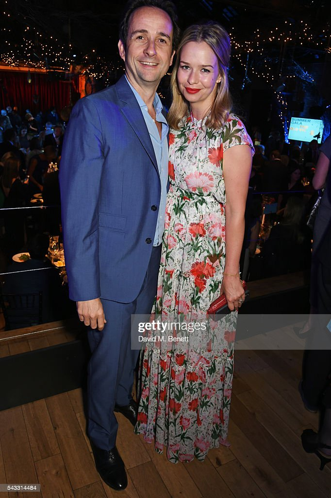 Matt Hermer (L) and Marissa Hermer attend the Summer Gala for The Old Vic at The Brewery on June 27, 2016 in London, England.