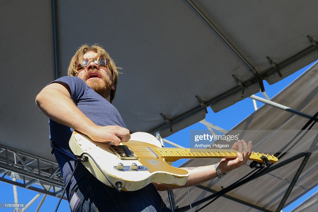 Matt Hill performs on stage on Day 4 of Waterfront Blues Festival at Tom McCall Waterfront Park on July 7, 2013 in Portland, Oregon.