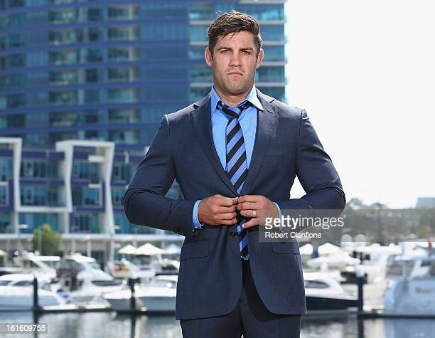 Matt Hodgson of the Western Force poses during the 2013 Australian Super Rugby Launch at Sketch Central Pier on February 13 2013 in Melbourne...