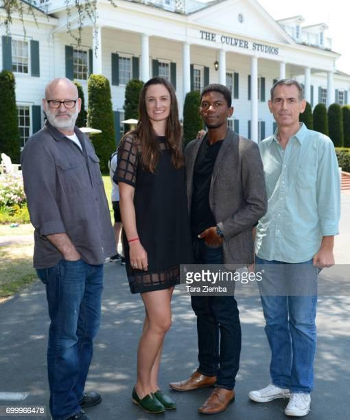Matt Holzman Katherine Fairfax Wright Shofela Coker and Paul Federbush attend the Awards Ceremony during the 2017 Los Angeles Film Festival at the...