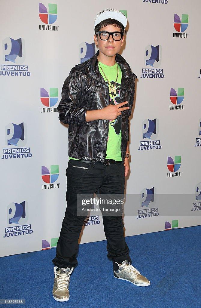 Matt Hunter Premios Juventud 2012