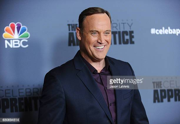 Matt Iseman attends the press junket For NBC's 'Celebrity Apprentice' at The Fairmont Miramar Hotel Bungalows on January 28 2016 in Santa Monica...
