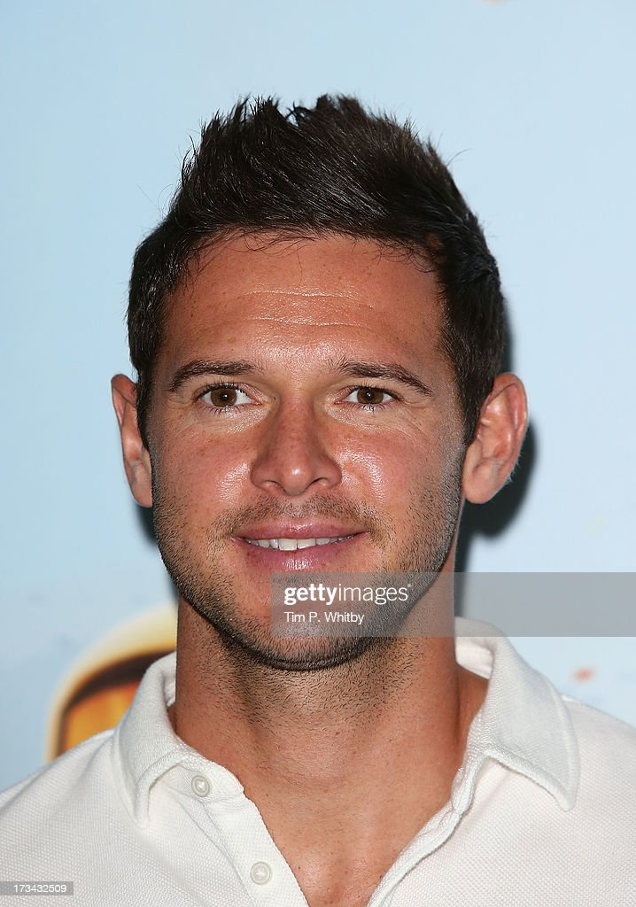 Matt Jarvis attends a special screening of Disney's 'Planes' at Odeon Leicester Square on July 14, 2013 in London, England.