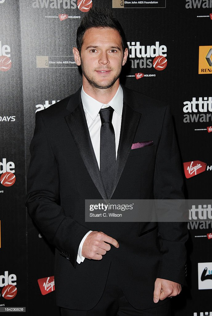 Matt Jarvis attends the Attitude Magazine Awards at One Mayfair on October 16, 2012 in London, England.