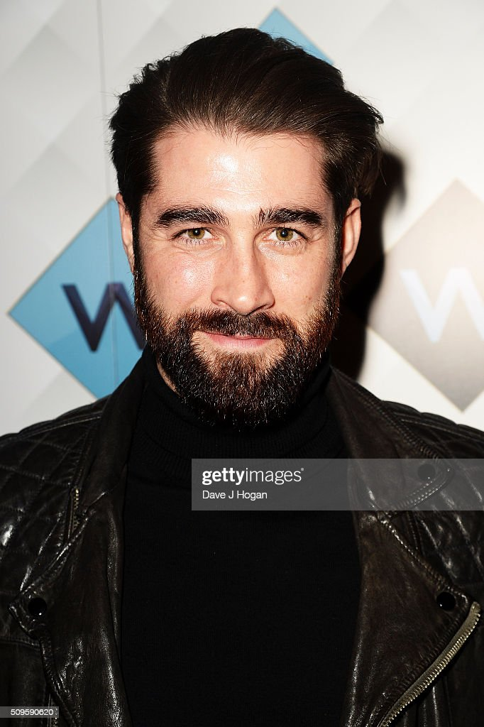 Matt Johnson attends a celebration of the new TV channel 'W,' launching on Monday 15th February, at Union Street Cafe on February 11, 2016 in London, England.