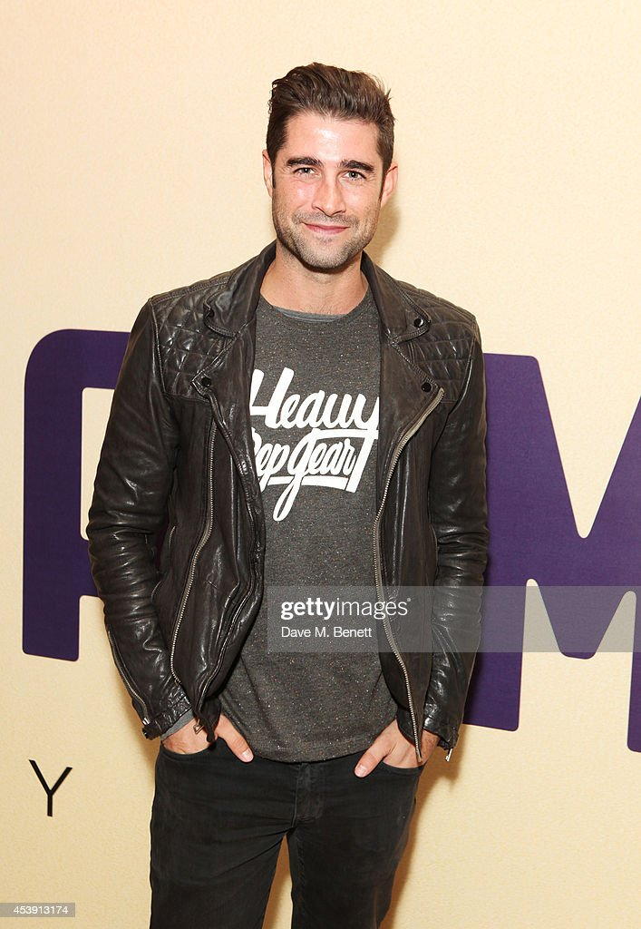 Matt Johnson attends a screening of 'Million Dollar Arm' at The May Fair Hotel on August 21, 2014 in London, England.