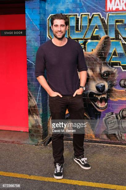 Matt Johnson attends the European Gala screening of 'Guardians of the Galaxy Vol 2' at the Eventim Apollo on April 24 2017 in London United Kingdom