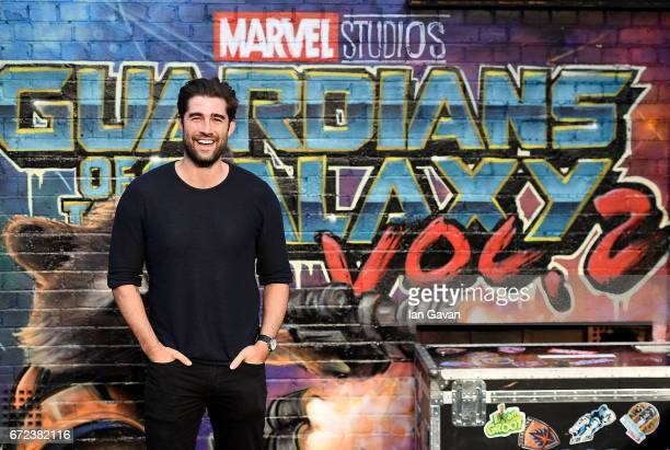 Matt Johnson attends the European launch event of Marvel Studios' 'Guardians of the Galaxy Vol 2' at the Eventim Apollo on April 24 2017 in London...