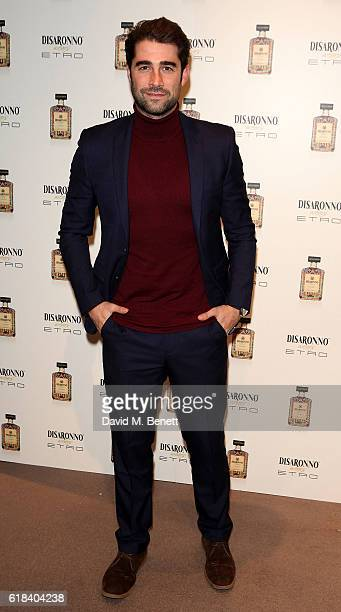 Matt Johnson attends the launch of Disaronno Wears Etro celebrating the limited edition bottle at the Etro Bond Street boutique on October 26 2016 in...