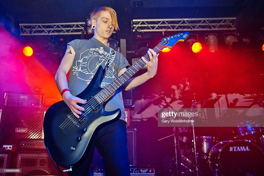 Matt Jones of Or Die Trying performs on stage at the Corporation on January 24, 2013 in Sheffield, England.