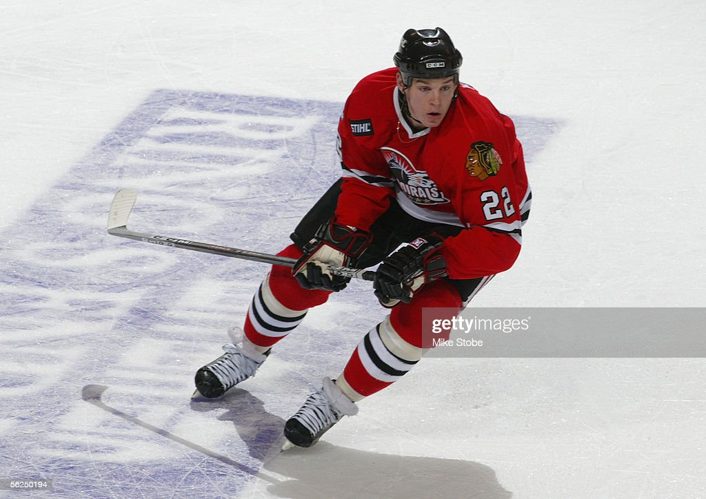 Matt Keith of the Norfolk Admirals skates during the game with the Bridgeport Sound Tigers November 2 2005 in Bridgeport Connecticut The Admirals won...