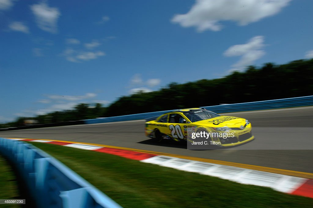 <a gi-track='captionPersonalityLinkClicked' href=/galleries/search?phrase=Matt+Kenseth&family=editorial&specificpeople=204192 ng-click='$event.stopPropagation()'>Matt Kenseth</a>, driver of the #20 Dollar General Toyota, qualifies for the NASCAR Sprint Cup Series Cheez-It 355 at Watkins Glen International on August 9, 2014 in Watkins Glen, New York.