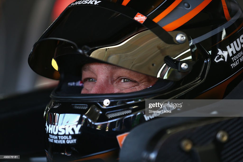 <a gi-track='captionPersonalityLinkClicked' href=/galleries/search?phrase=Matt+Kenseth&family=editorial&specificpeople=204192 ng-click='$event.stopPropagation()'>Matt Kenseth</a>, driver of the #20 Home Depot Husky Toyota, sits in his car during practice for the NASCAR Sprint Cup Series Coca-Cola 600 at Charlotte Motor Speedway on May 24, 2014 in Charlotte, North Carolina.